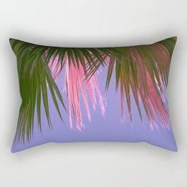 Neon Tropics Rectangular Pillow