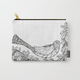 Tree Bird Carry-All Pouch