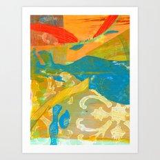 Tricolor Art Print