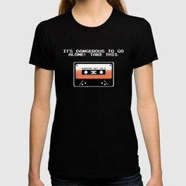 TAKE THIS TAPE (Zelda & Guardians of the galaxy Parody) T-shirt