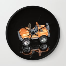 """""""Reflections"""" - Toy Car 2 Wall Clock"""