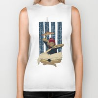 pocket fuel Biker Tanks featuring Fuel for winter nights by Diana Stanciulescu