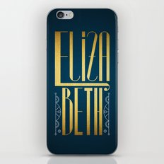 Elizabeth iPhone Skin