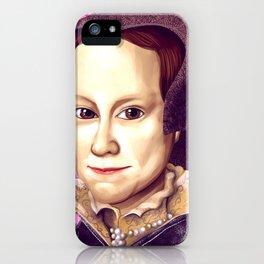 Mary Tudor, Mary I of England iPhone Case