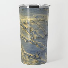 Flowing blue Travel Mug