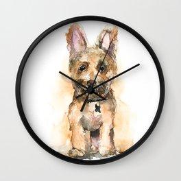 DOG#19 Wall Clock