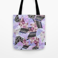 FLORAL HYPNOSIS  Tote Bag