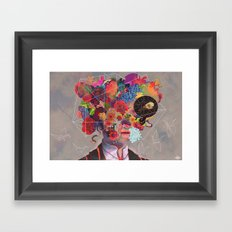 The Deterioration of the Mind And the Disappearance of Car Keys Framed Art Print
