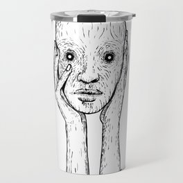 Keep your face to the darkness Travel Mug