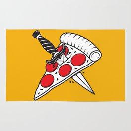 Pizza Tatt Rug