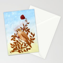 The Nightingale and the Rose Stationery Cards