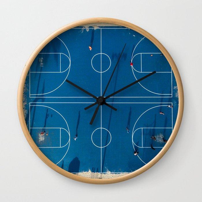 Basket 2 Wall Clock
