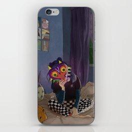 Skull Kid of the Moon iPhone Skin