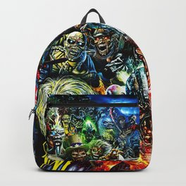 iron maiden tour 2020 2021 hammer oneng Backpack