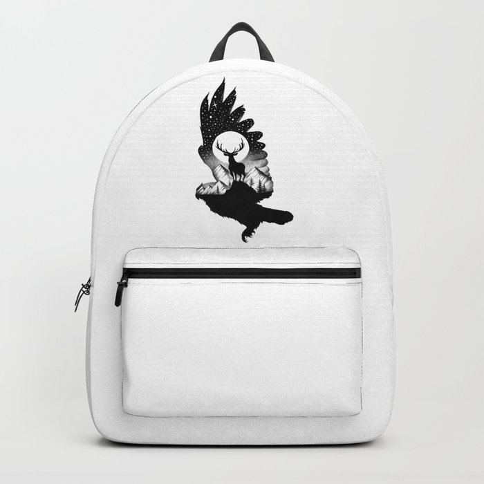 THE OWL AND THE DEER II Backpack