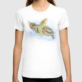 Sea Turtle Watercolor T-shirt
