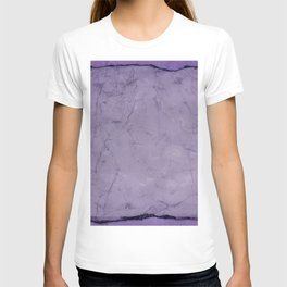 Crushed velvet. T-shirt