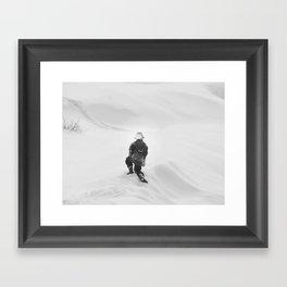 NOWHERE TO GO Framed Art Print