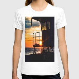 No Eclipse In Sight - Surf City September 27, 2015 T-shirt
