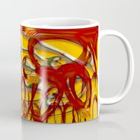 numbers Mugs featuring Numbers by LoRo  Art & Pictures