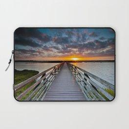 Bolsa Chica Wetlands Sunrise  6/18/14 Laptop Sleeve