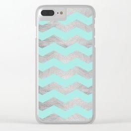 Geometric and modern art XVII Clear iPhone Case