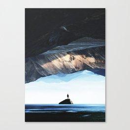 DEEP BREATH Canvas Print