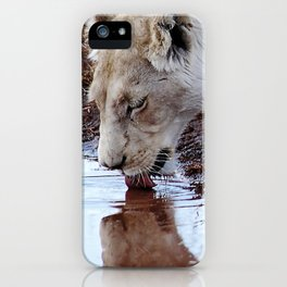 Not just a puddle but survival iPhone Case