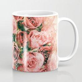 Vintage watercolor roses Coffee Mug