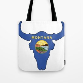 Montana Bison Tote Bag