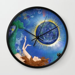 Mermaid World Wall Clock