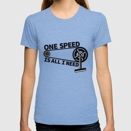 Single Speed Bike T-shirt