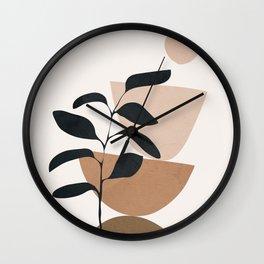 Minimal Shapes No.55 Wall Clock