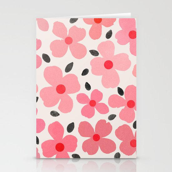 dogwood 8 Stationery Cards
