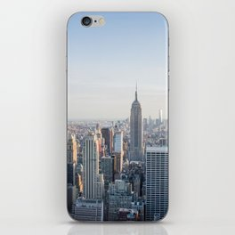 Towers - City Urban Landscape Photography iPhone Skin