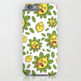 Sour lemon iPhone Case