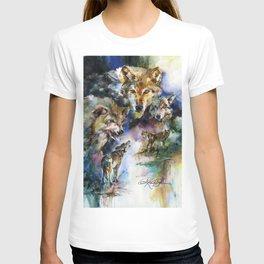 Wolves - by Kathy Morton Stanion T-shirt
