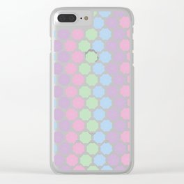 Pastel Kind o Day Clear iPhone Case