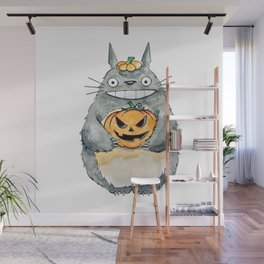 Pumpkin and Smile! Wall Mural