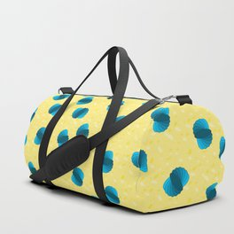 Large Oval Swirls Duffle Bag