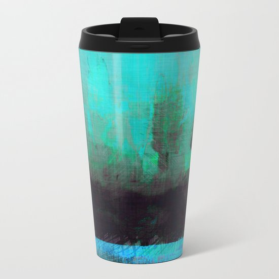 Lysergic Horizon Metal Travel Mug