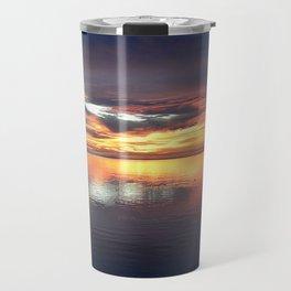 Colored Sunset Travel Mug