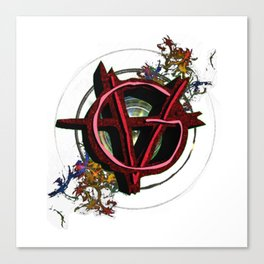 Vagenda Logo - Full Color VERSION ONE Canvas Print