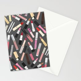 Lipstick Party - Dark Stationery Cards