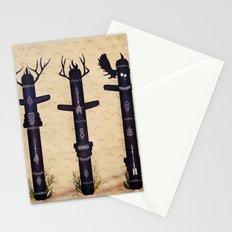 Totem Poles Stationery Cards