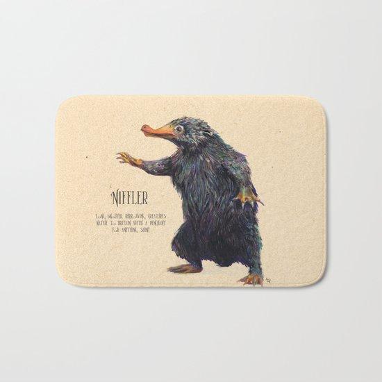Niffler art Fantastic Beasts Bath Mat