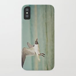 """The Seagull see farthest who flies highest."" --Proverbs quote iPhone Case"