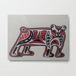 Hlgahls Tàan (Black Bear) Metal Print
