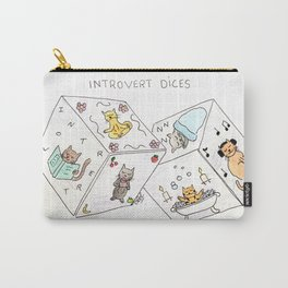 Introvert dices Carry-All Pouch