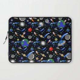 Galaxy Universe - Planets, Stars, Comets, Rockets Laptop Sleeve